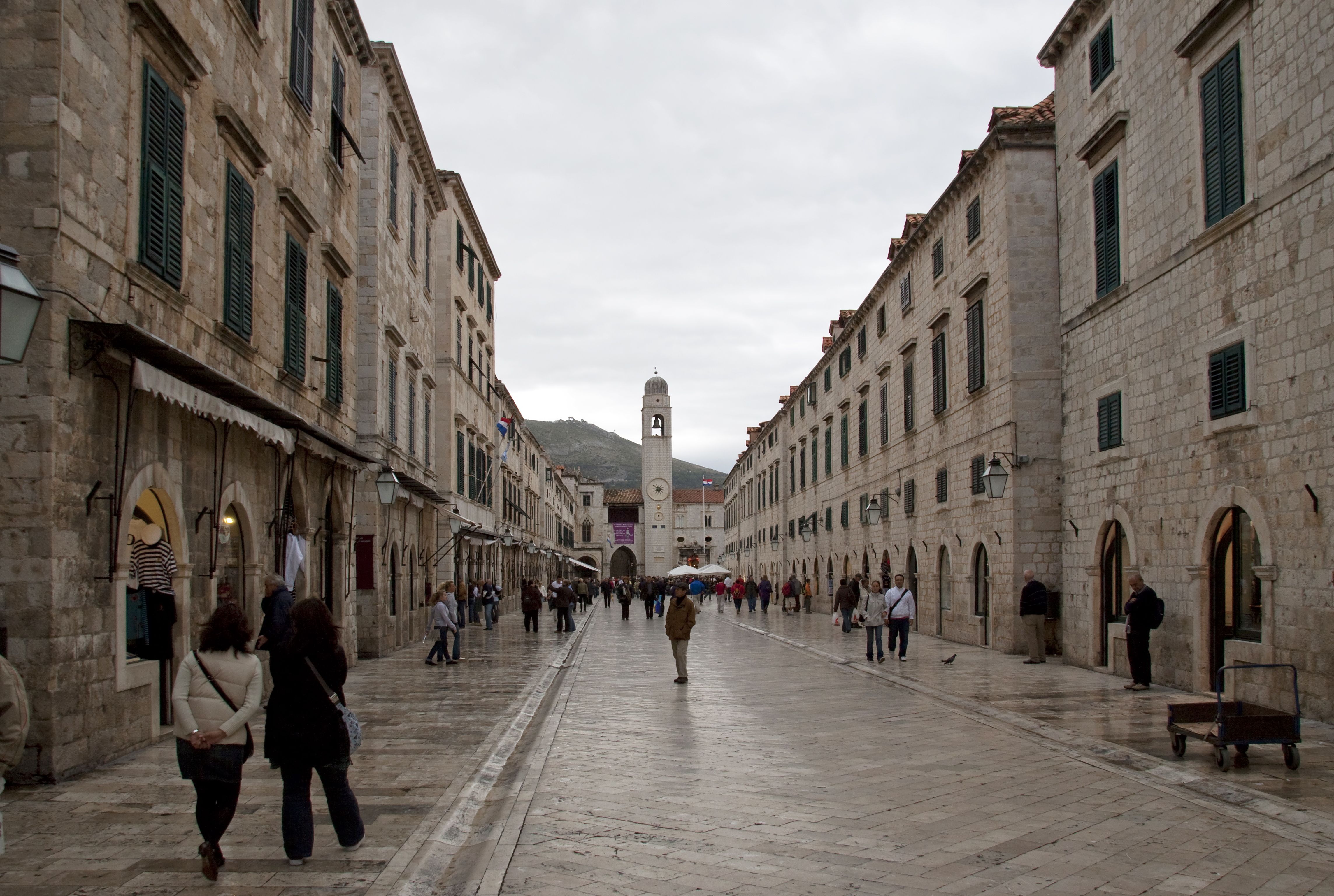 oldtown croatia ways street - photo #11