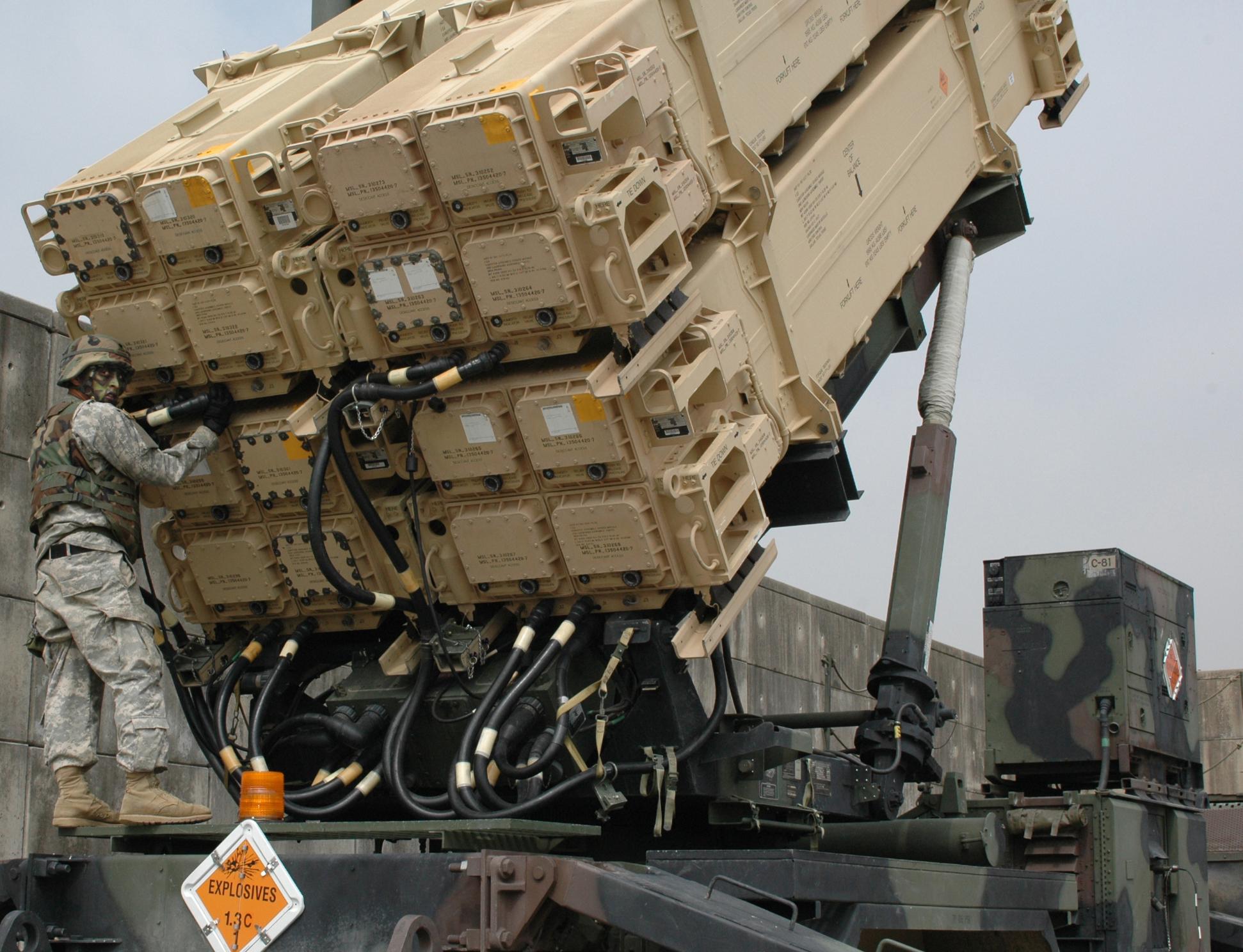 batteria di missili PATRIOT