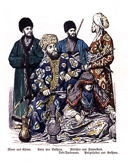 People of Central Asia c. 1861–1880