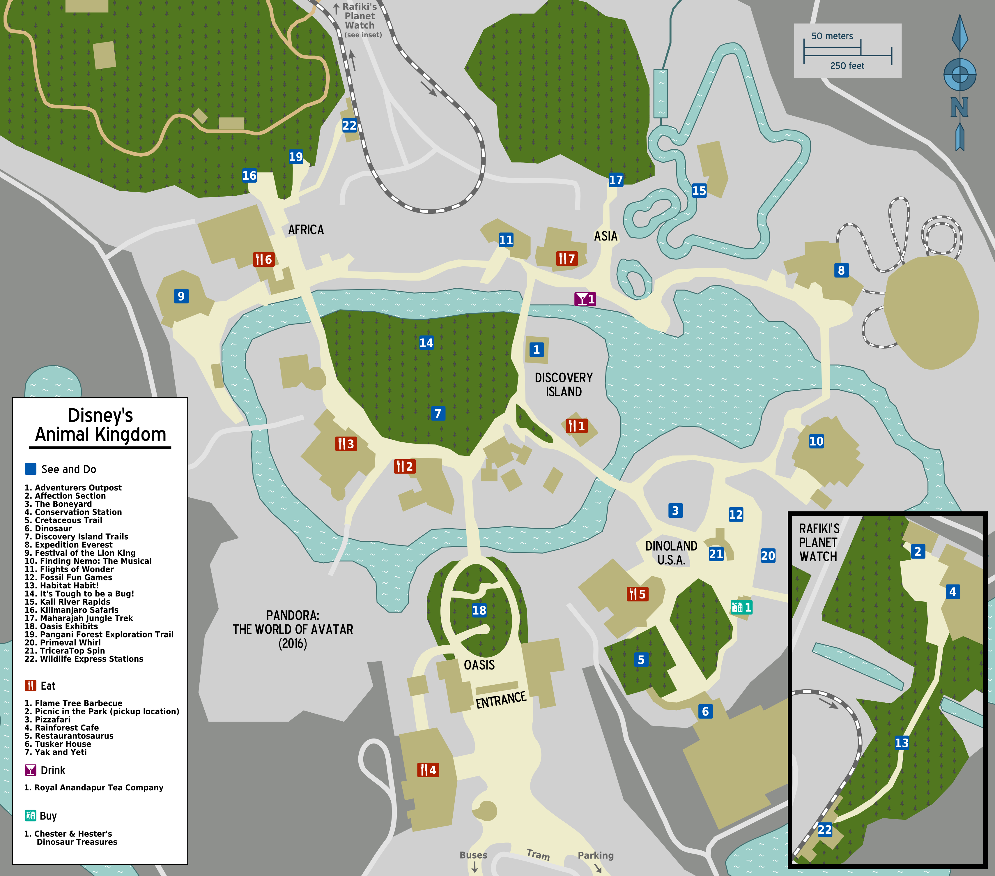 File:Map   Walt Disney World   Animal Kingdom.png