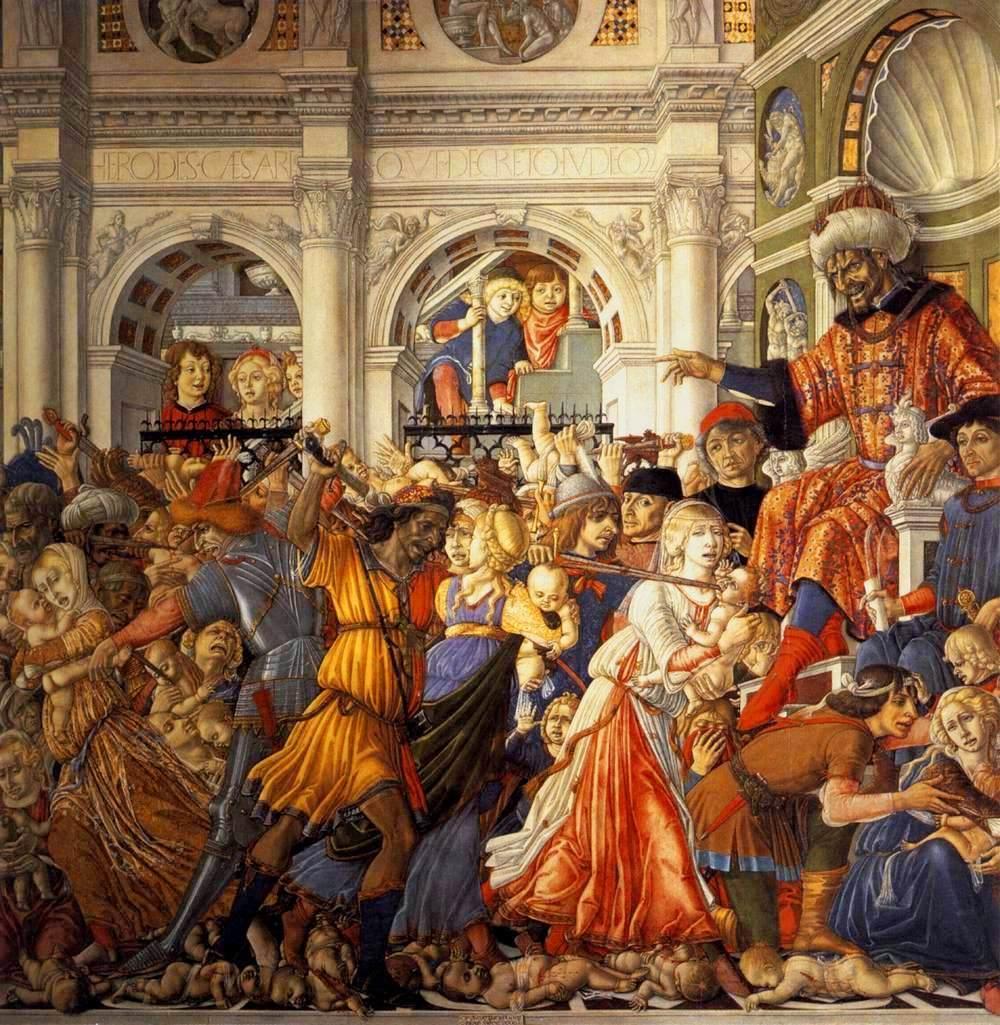 File:Massacre of the Innocents by Matteo di Giovanni (1482, Sant'Agostino