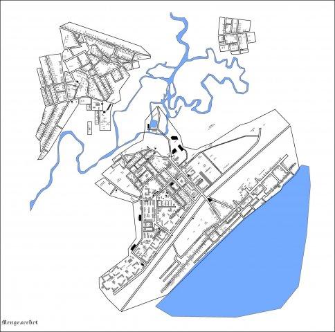 Карта Менделеевска