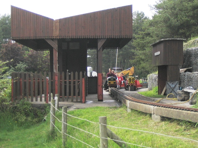 Miniature railway at Pembrey Country Park - geograph.org.uk - 176596