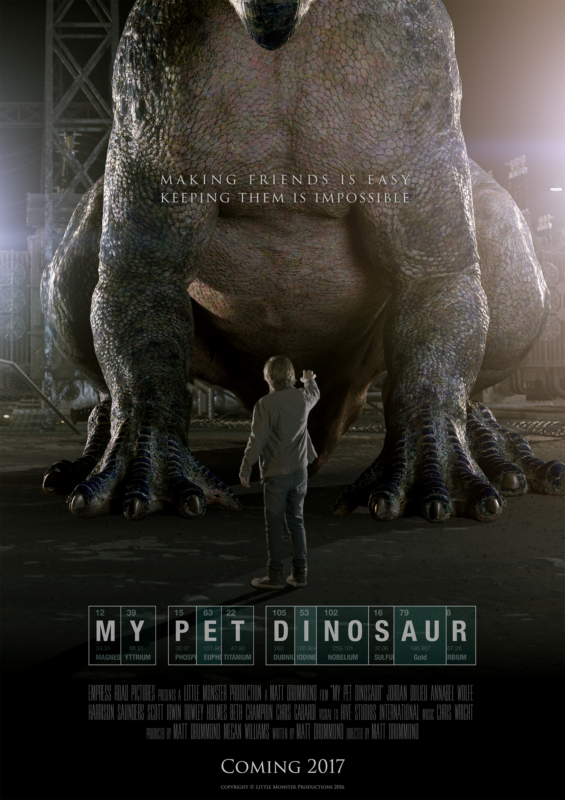 Picture of a movie: My Pet Dinosaur
