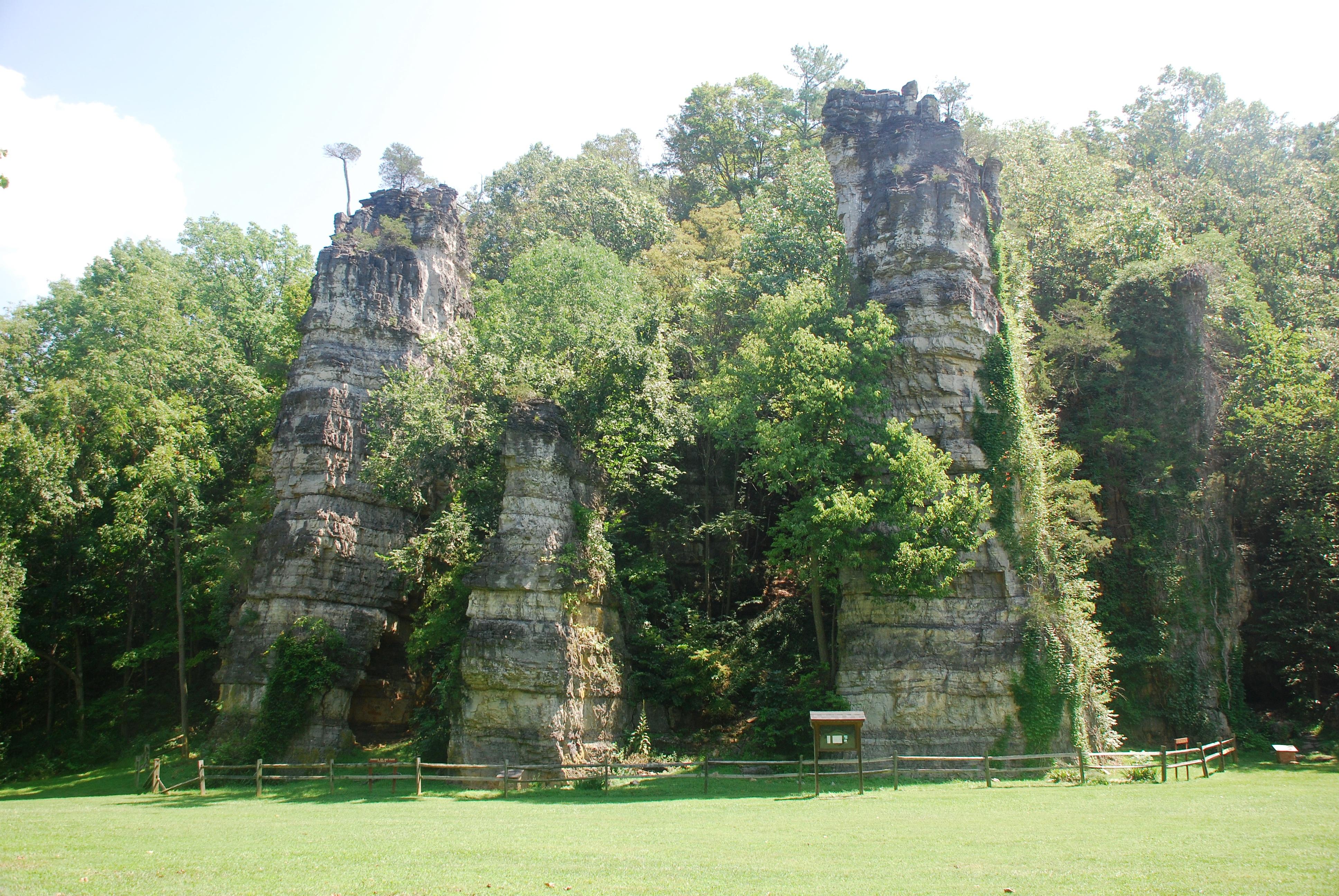 Natural Chimneys Regional Park Mt Solon Va
