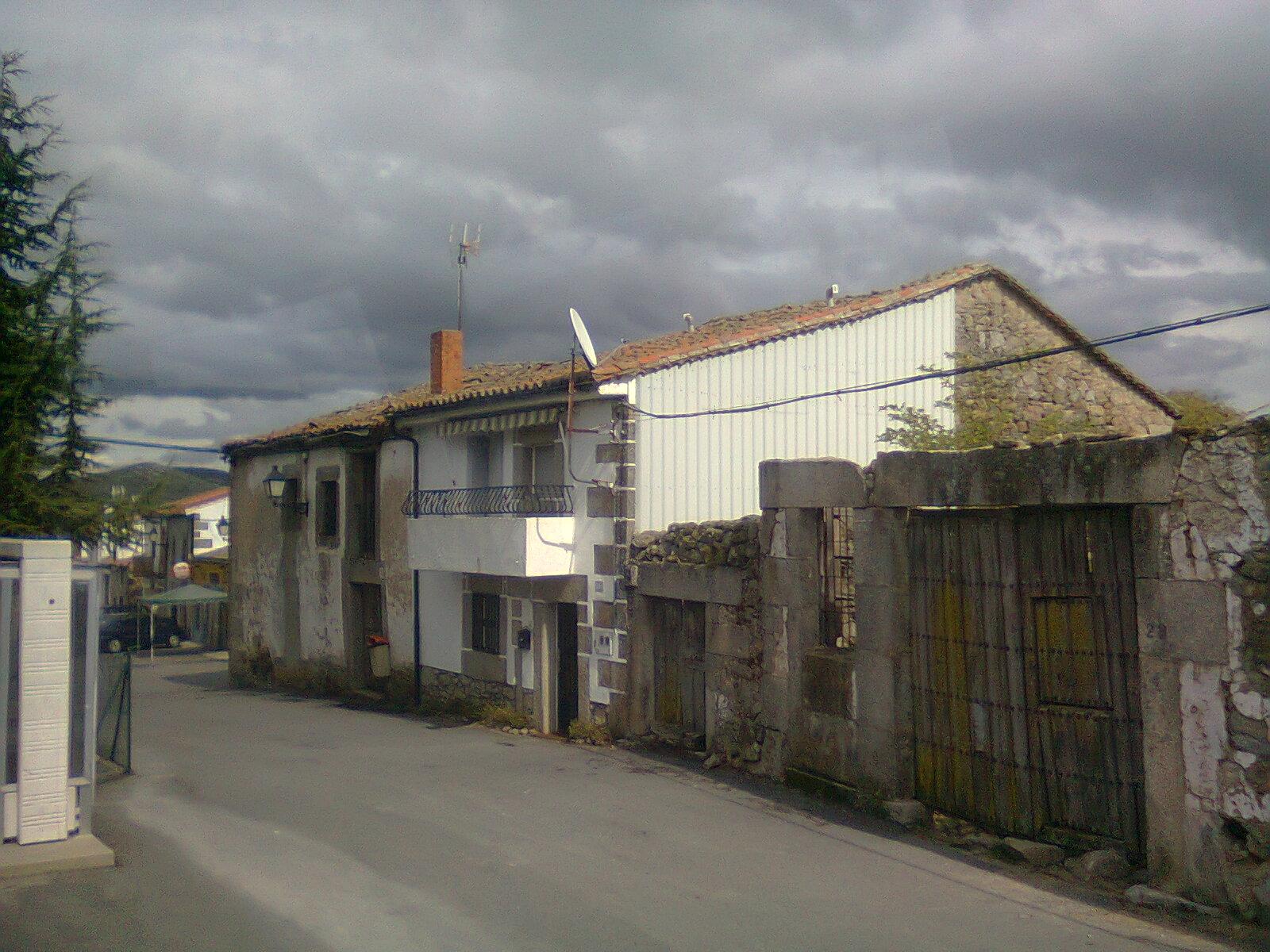 Calle Pocillo en Nava de Béjar
