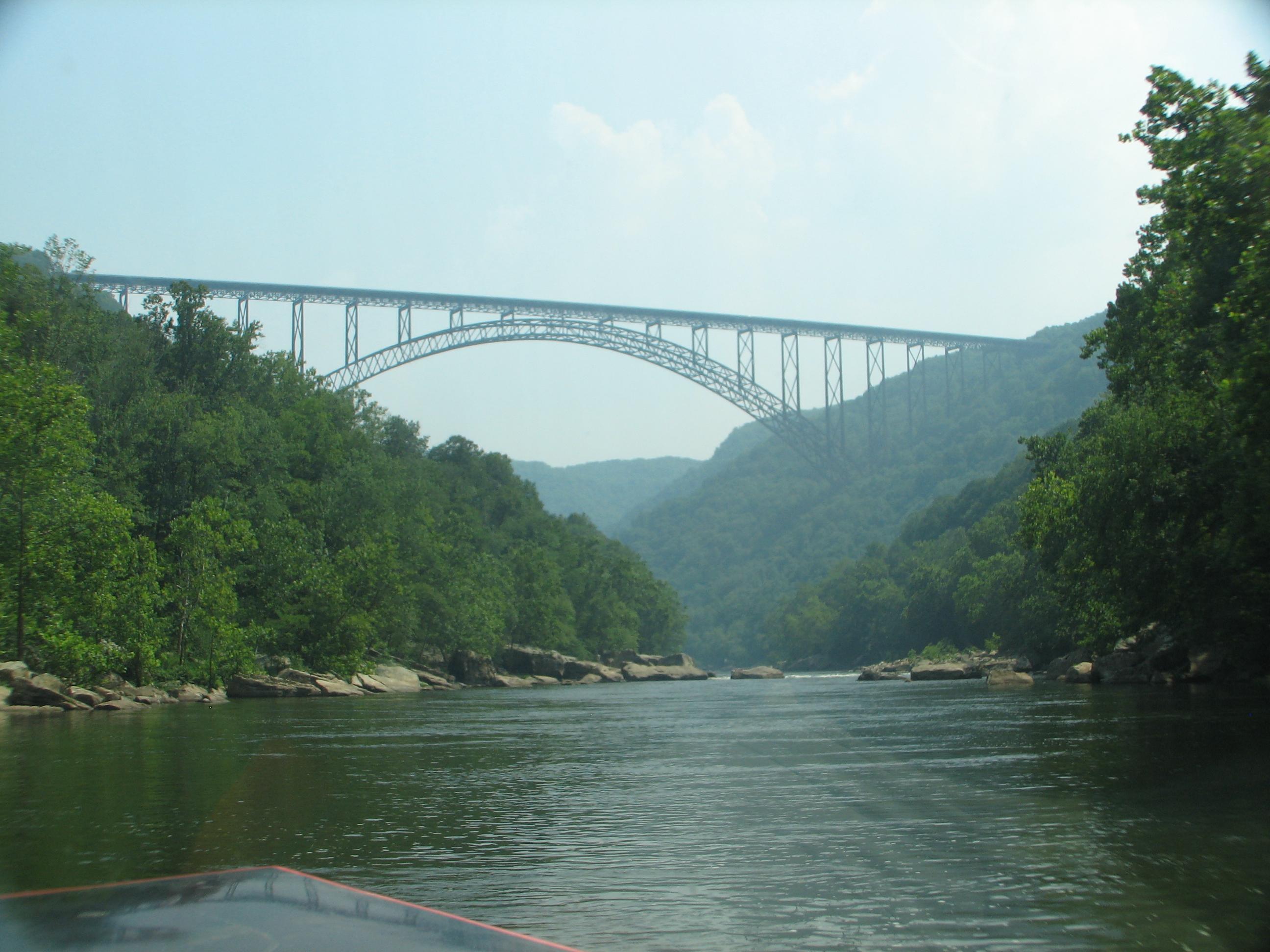 New River Bridge West Virginia Bridge West Virginia