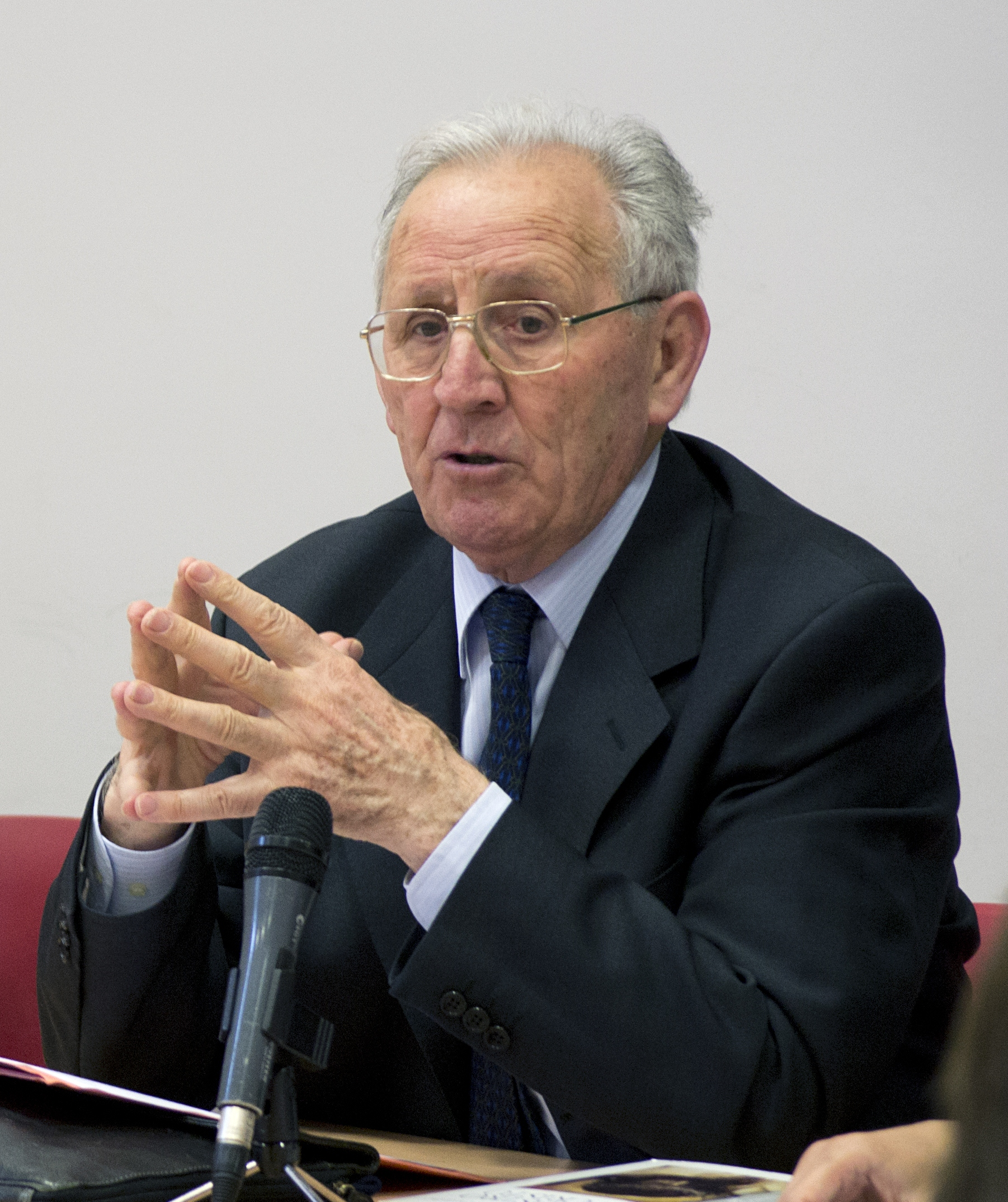 Olegario González de Cardedal in 2013