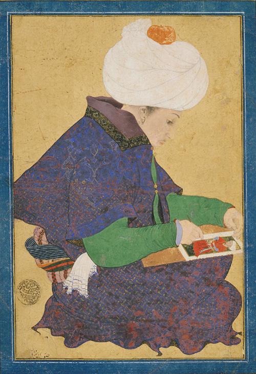 Ottoman Dynasty, Portrait of a Painter, Reign of Mehmet II (1444-1481).jpg
