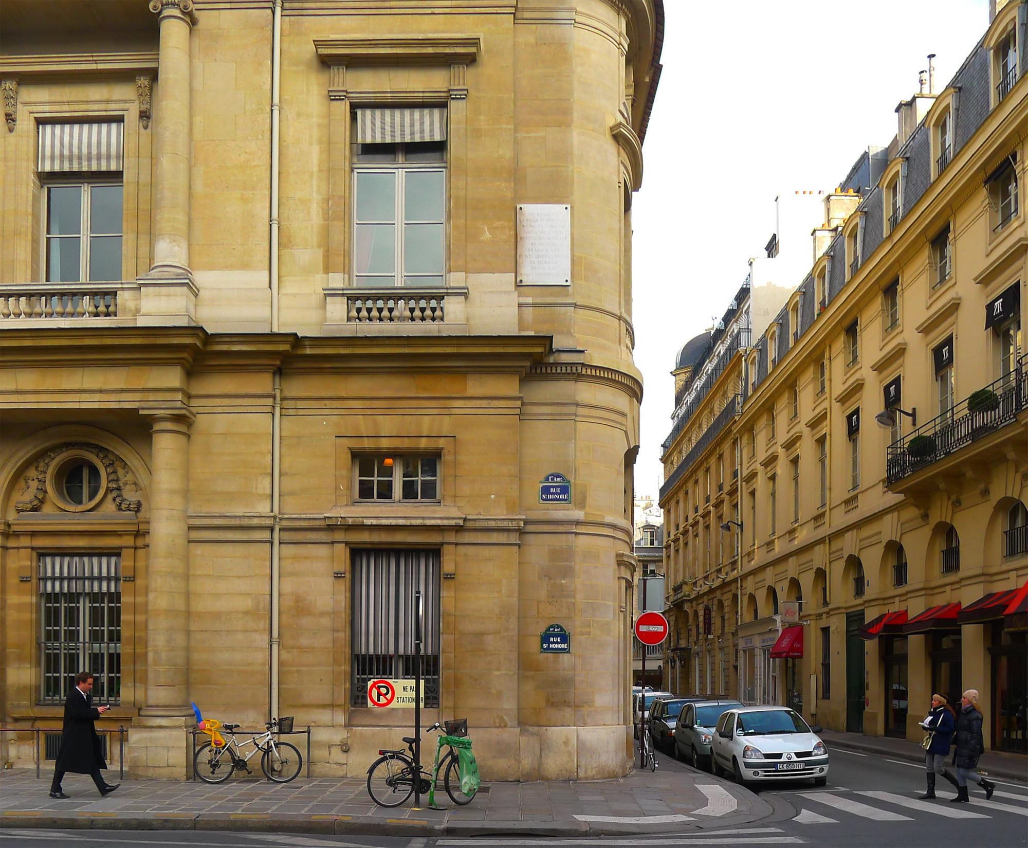 file p1150932 paris ier rue saint honor n202. Black Bedroom Furniture Sets. Home Design Ideas