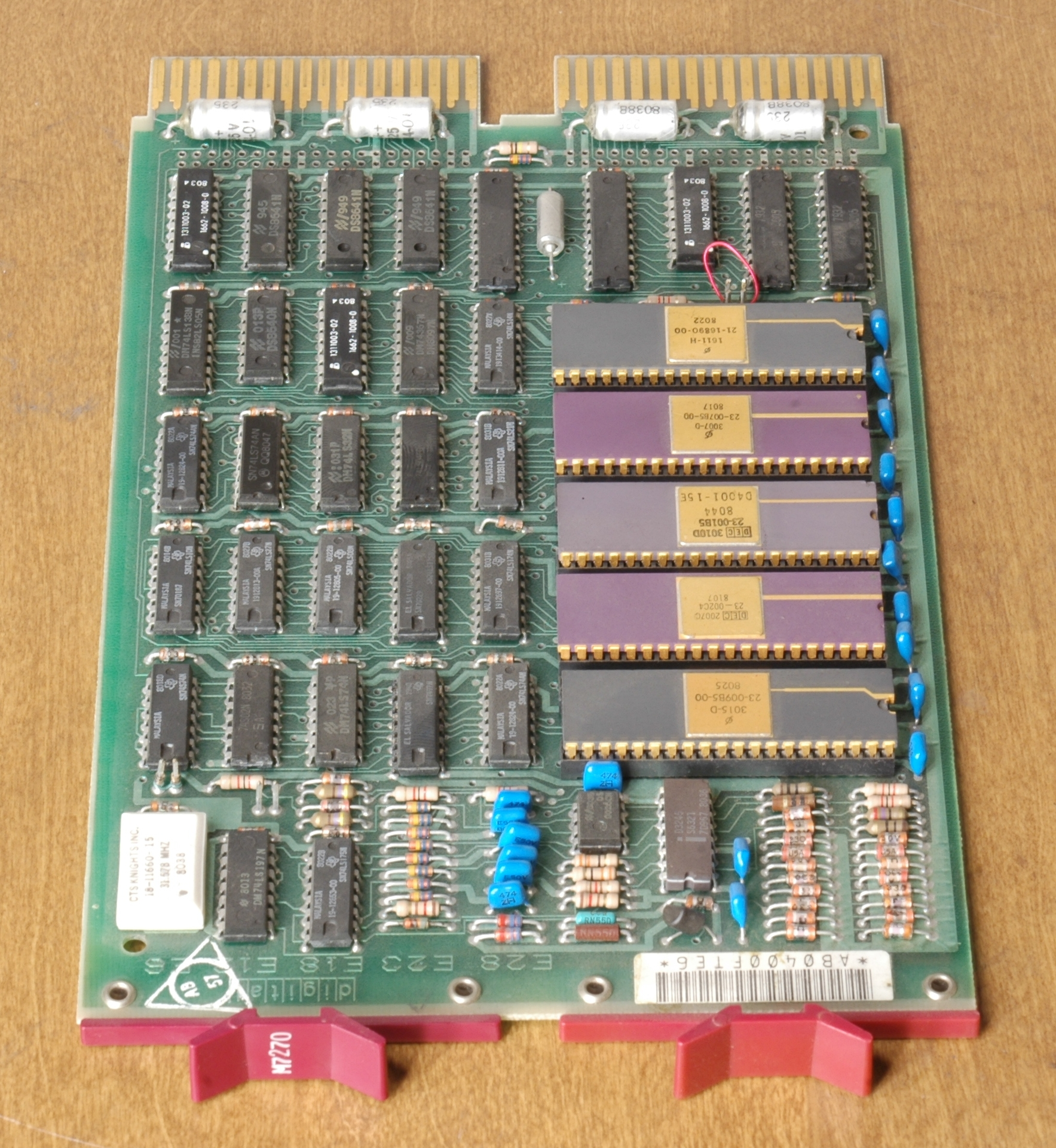 Q-Bus board with LSI-11/2 CPU