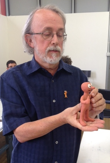 Peter Lord making Morph June 2014.jpg