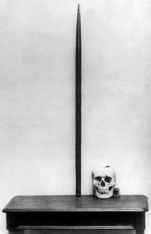 phineas gages skull and the tamping rod essay Skulls of various racial groups, with the aim of drawing conclusions about their  intellectual  the most famous case is that of phineas gage, the railroad worker  who was the  tamping rod through his brain, destroying much of his left frontal  lobe  prefixed an essay on the varieties of the human species.