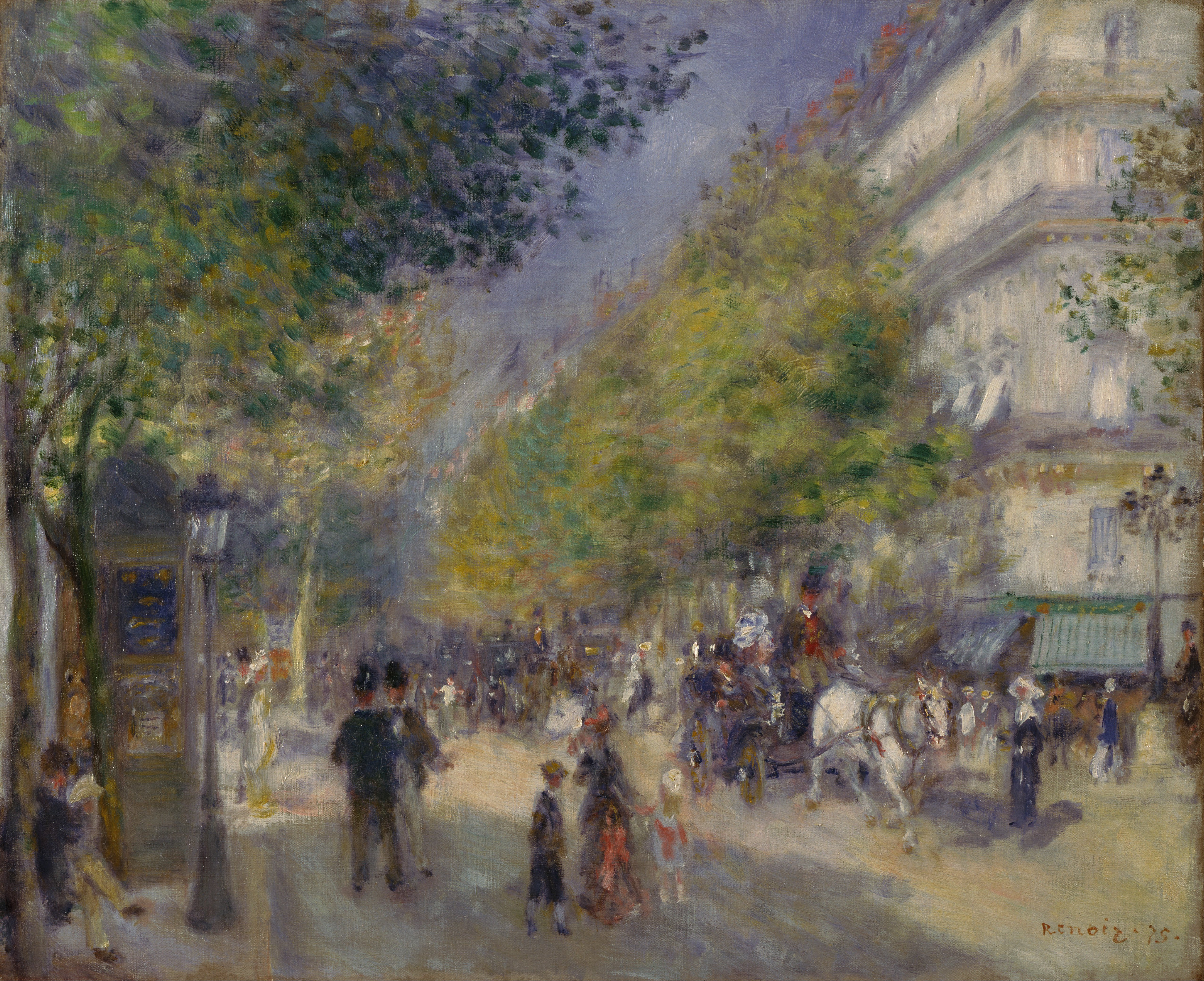 a biography of pierre auguste renoir a french impressionist painter Pierre-auguste renoir (1841–1919) was a french artist who was a leading painter in the development of the impressionist style as a celebrator of beauty, and.