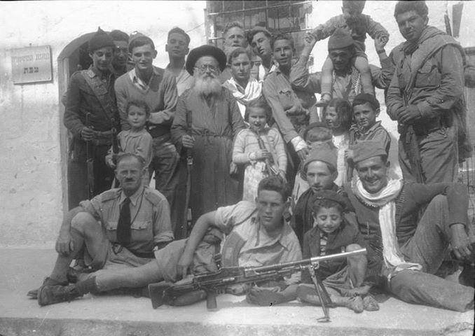 לוחמים ותושבים בצפת במלחמת העצמאות