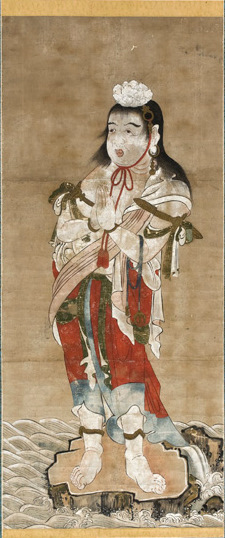 Ficheiro:Pintor japonês, Período Edo - Seitakea-Doji.jpg