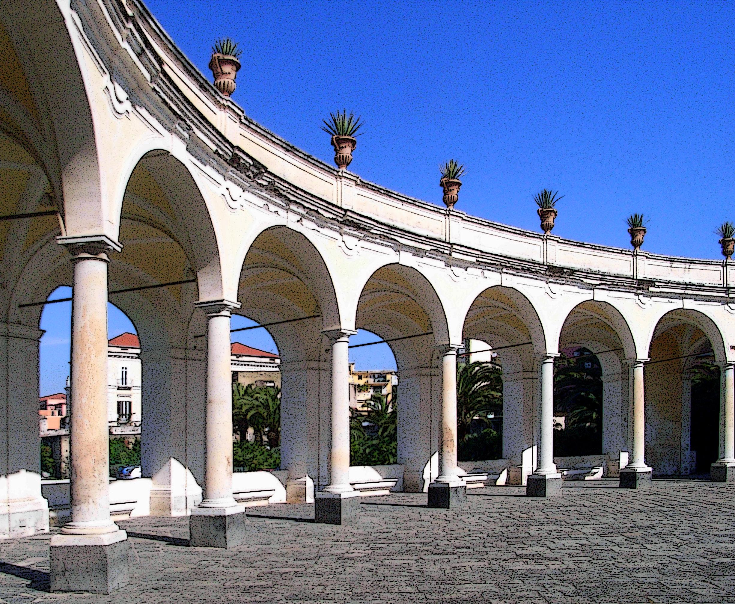 Matrimonio In Villa Campolieto : File portico della stoà villa campolieto g wikimedia