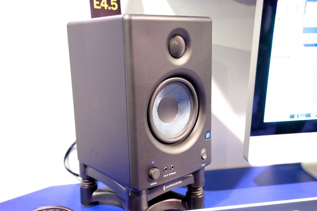 file presonus eris e4 5 hd active studio monitor 2014 namm show by matt vanacoro jpg. Black Bedroom Furniture Sets. Home Design Ideas