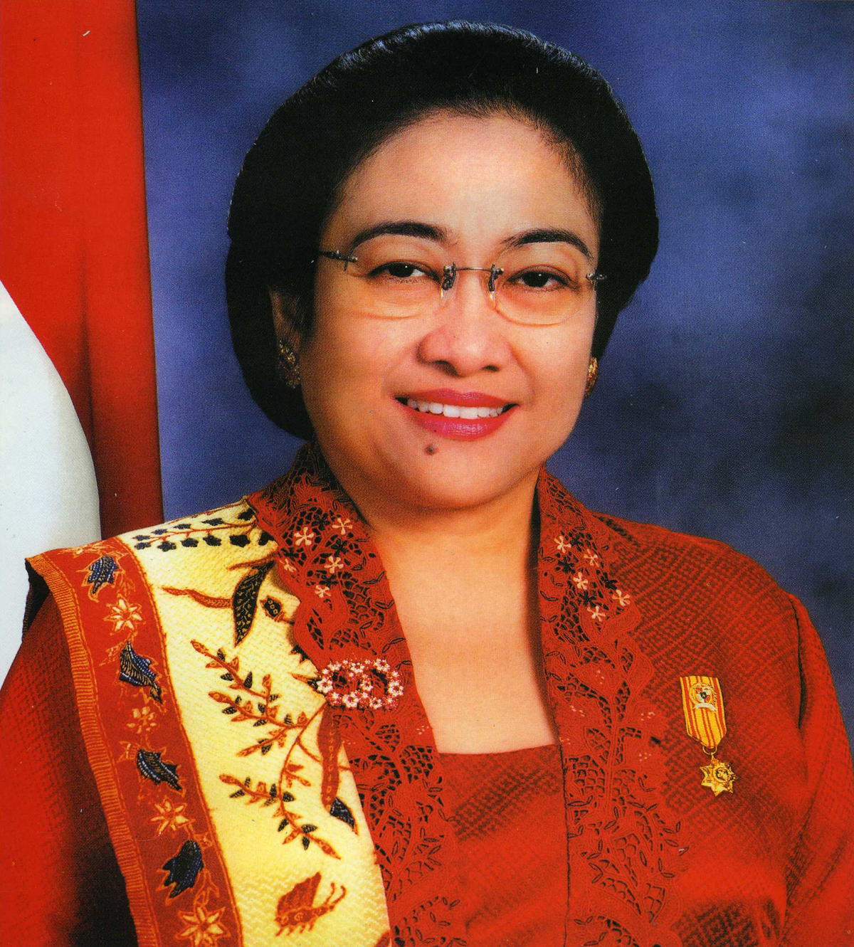 Description President Megawati Sukarnoputri - Indonesia.jpg