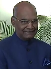 Virŝafa Nath Kovind-portreto (altranĉita).png