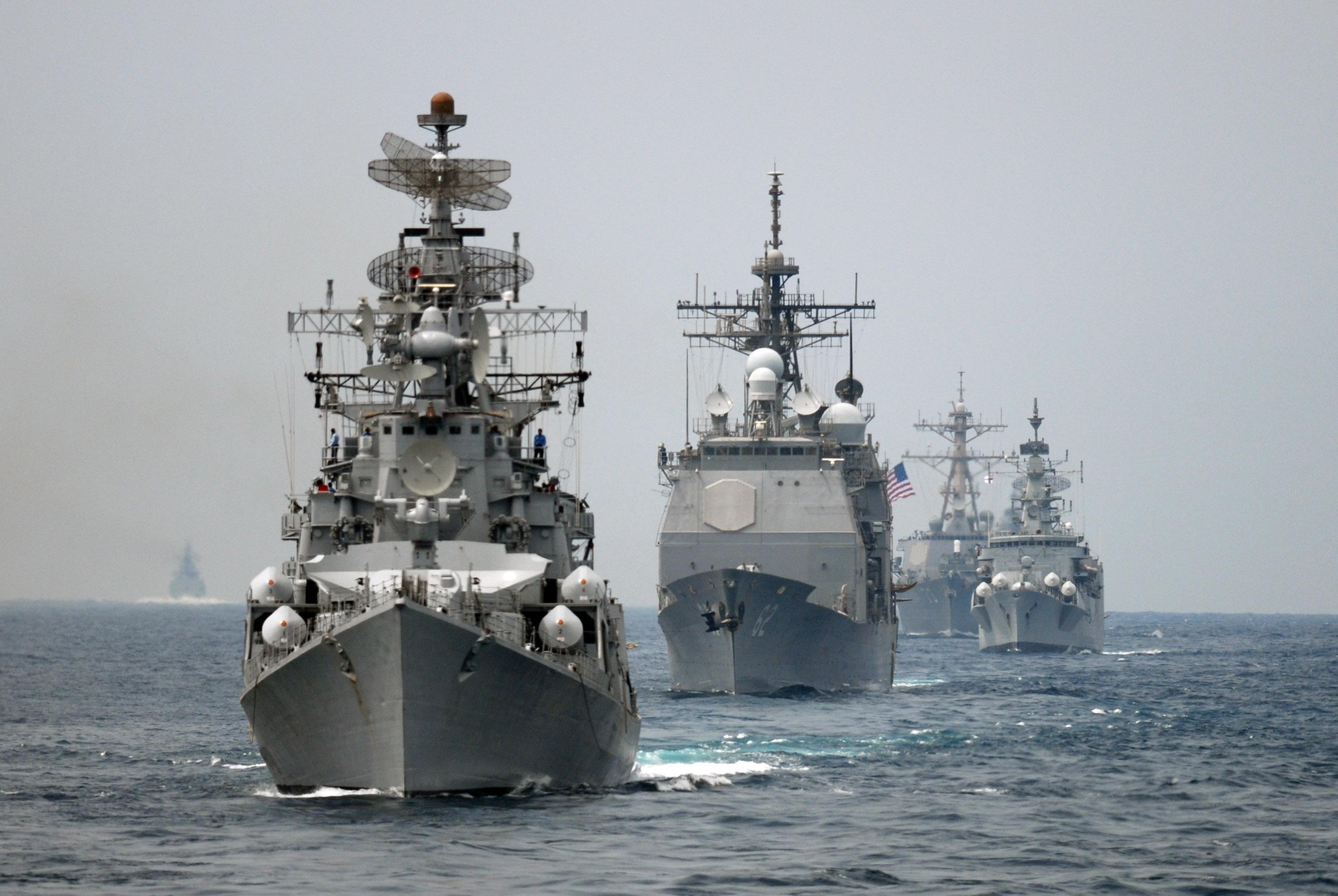 Image result for quad naval task force