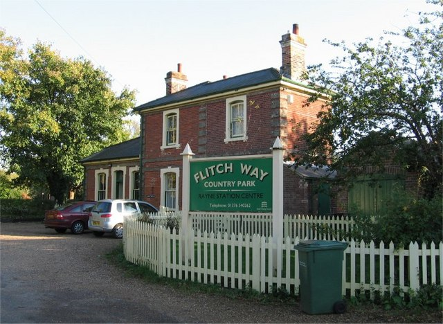 Rayne Station Centre - Flitch Way Country Park - geograph.org.uk - 865763