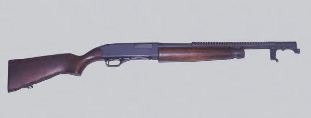 Remington M870 Shotgun