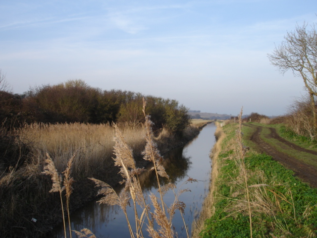 Royal Military Canal Pett Level East Sussex - geograph.org.uk - 111185