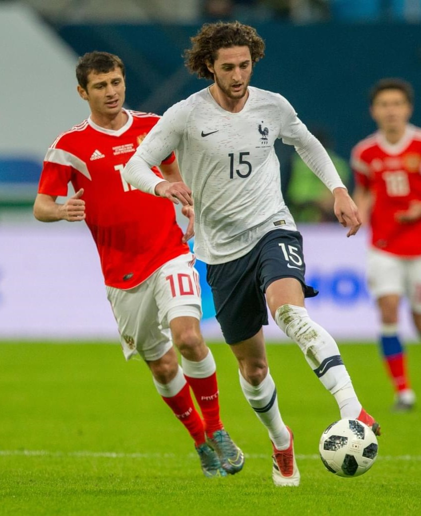 The 23-year old son of father Michel Rabiot and mother Veronique Rabiot Adrien Rabiot in 2018 photo. Adrien Rabiot earned a  million dollar salary - leaving the net worth at 10.4 million in 2018