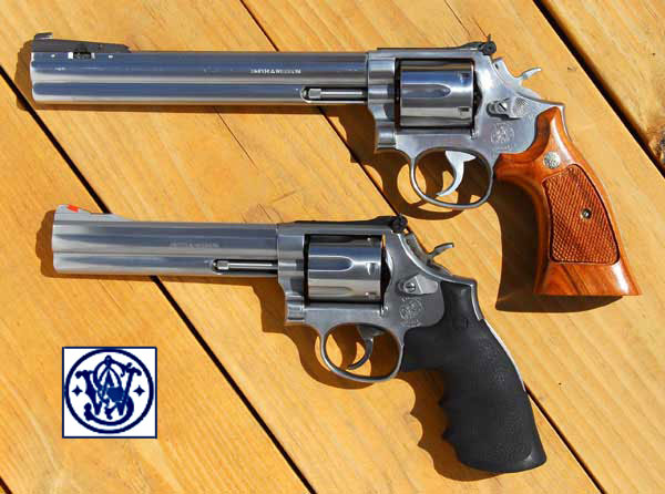 Two Smith Wesson Model 686s With 8 And 6 Inch Barrels
