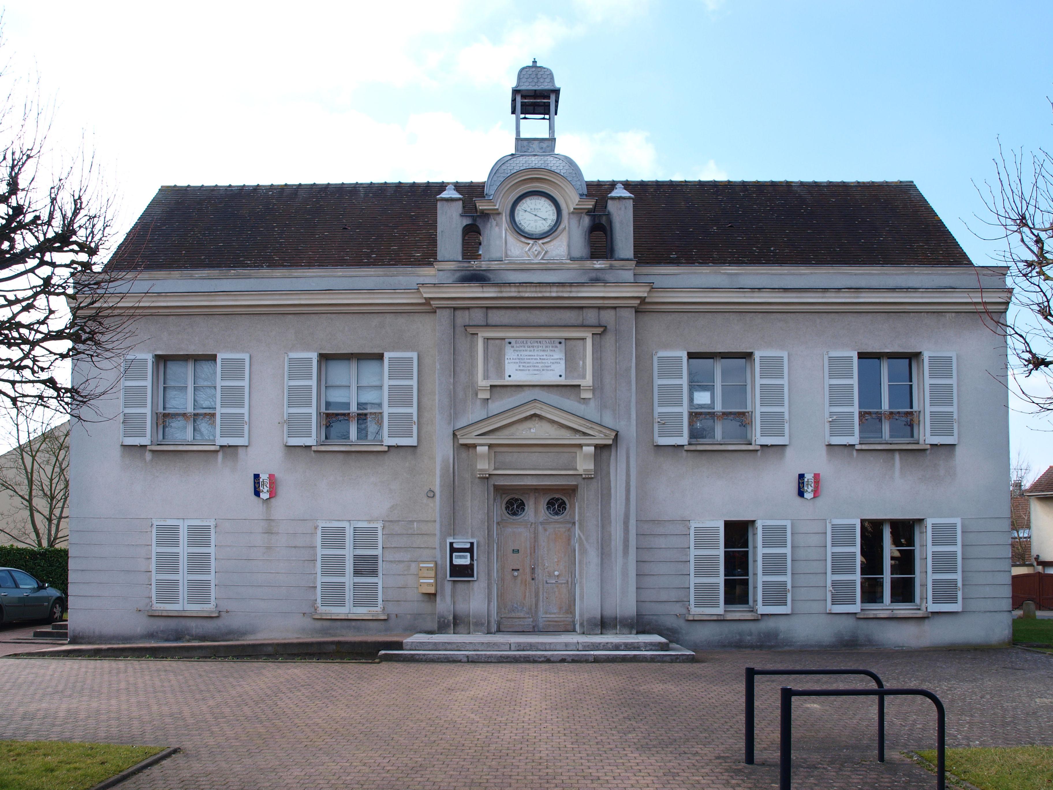 File Sainte Genevi u00e8ve des Bois 91 vieilleécole 01 jpg Wikimedia Com # St Geneviève Des Bois