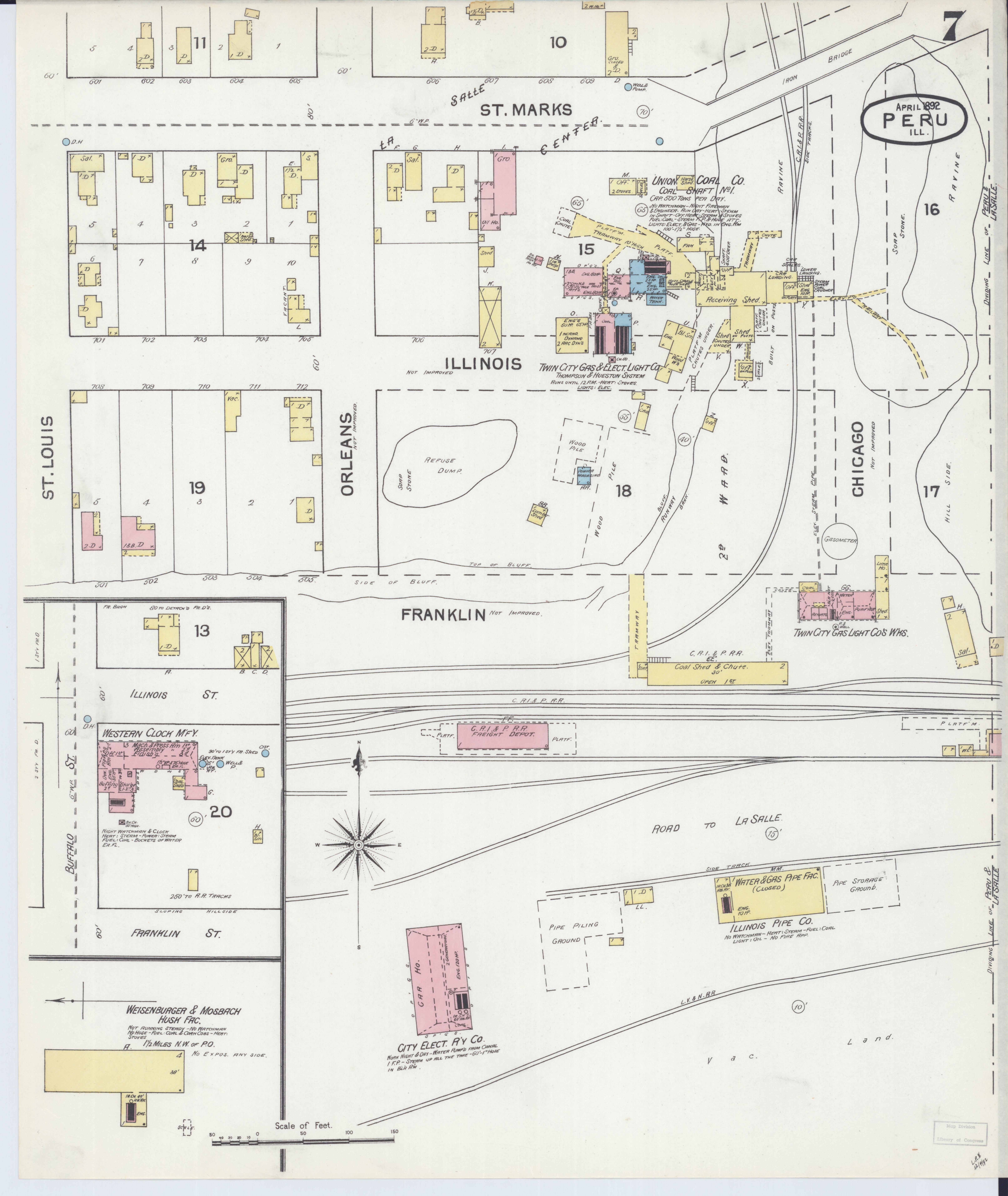 File Sanborn Fire Insurance Map From Peru La Salle County Illinois