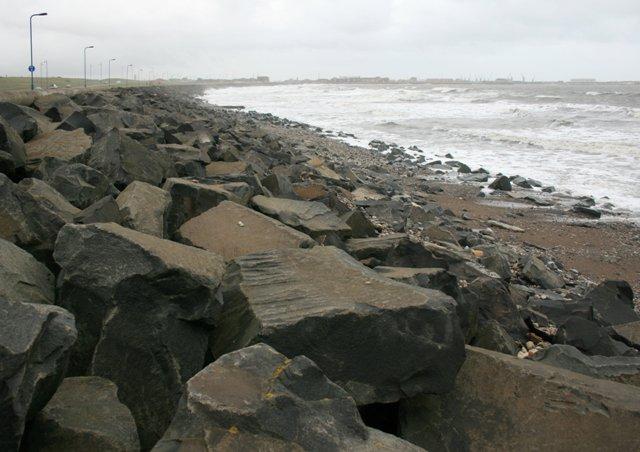 Sea Defences, Carr House Sands - geograph.org.uk - 568539