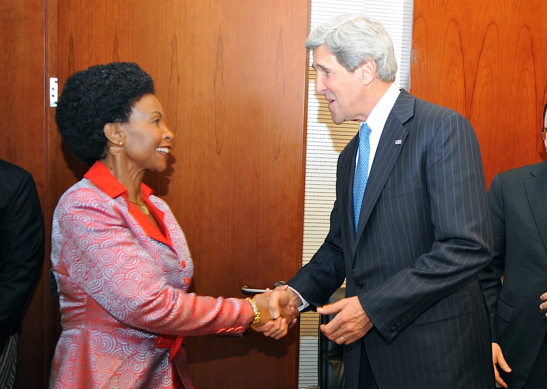 Filesecretary Kerry Meets With South African Foreign Minister