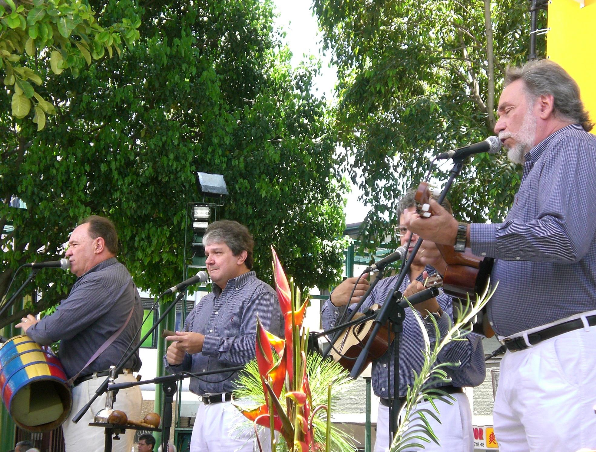 La agrupación Serenata Guayanesa