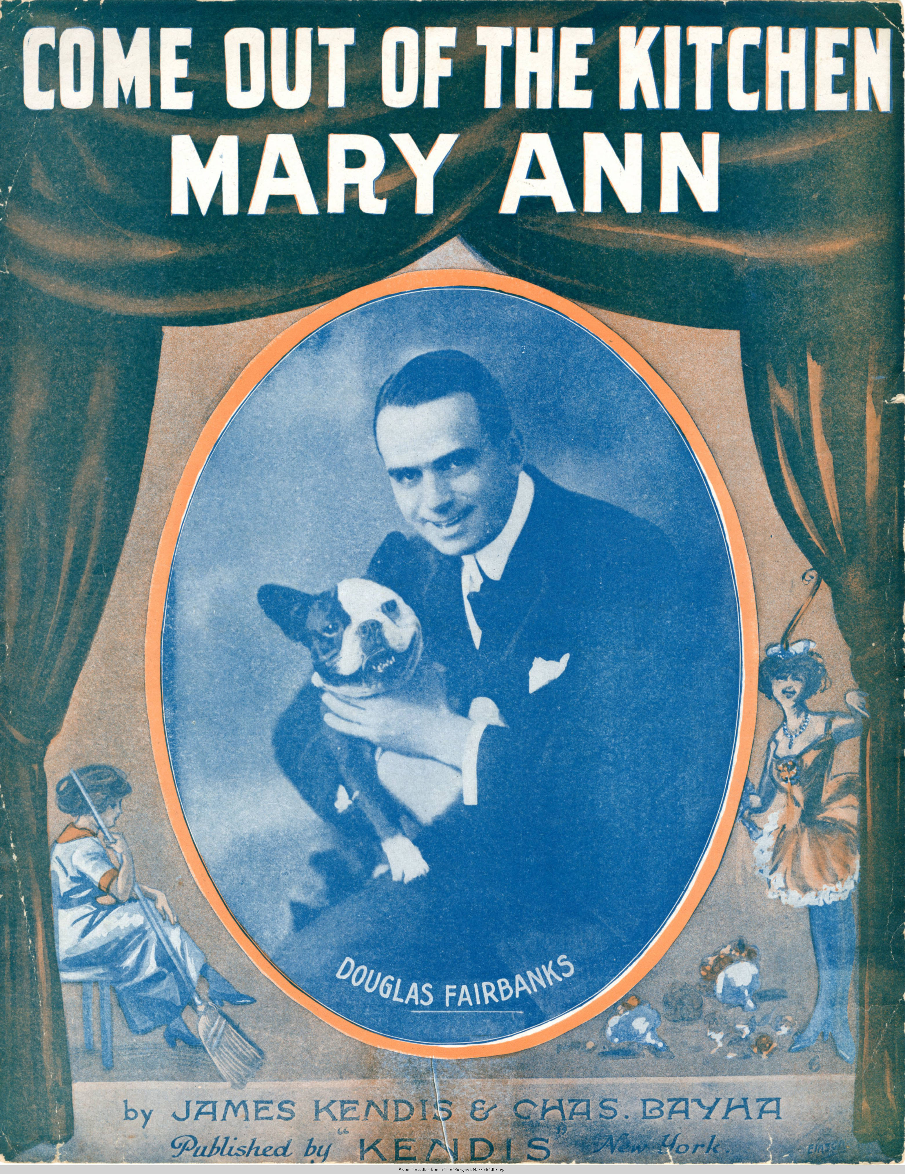 File:Sheet music cover - COME OUT OF THE KITCHEN MARY ANN (1915).jpg ...