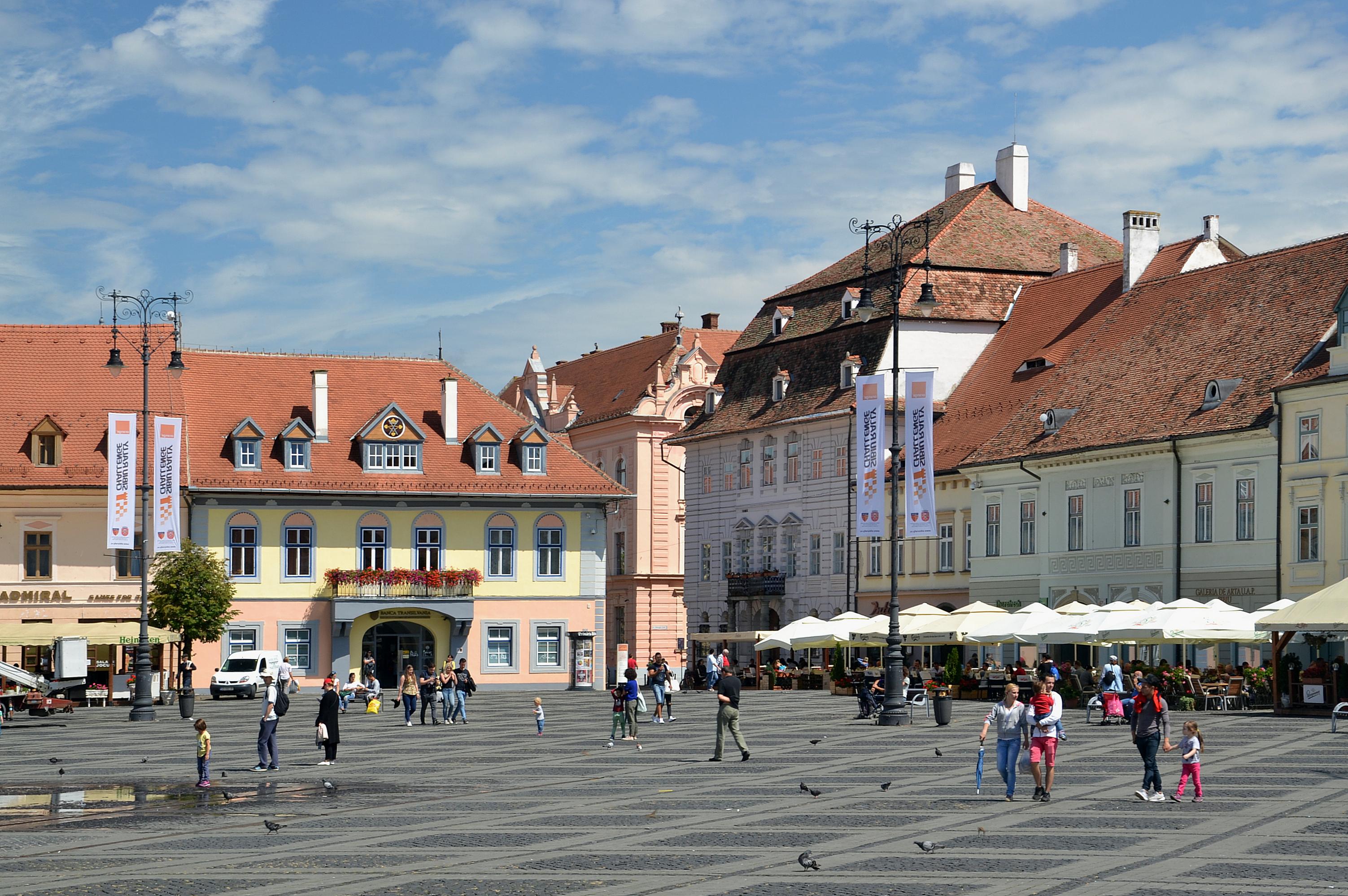 Hermannstadt - der Kleine Ring Foto & Bild | world ...  |Hermannstadt