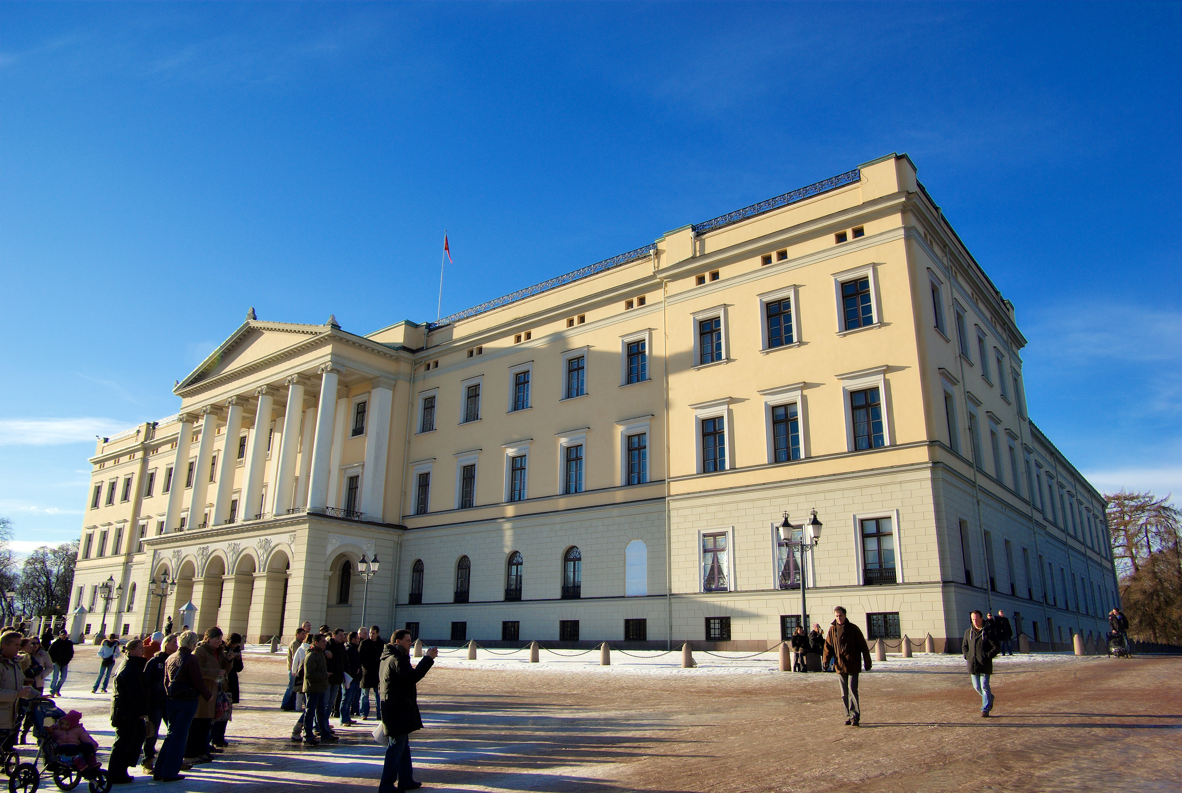 The Royal Palace of Oslo