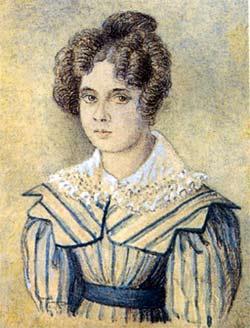 Софья Михайловна Салтыкова (1806–1888), жена поэта