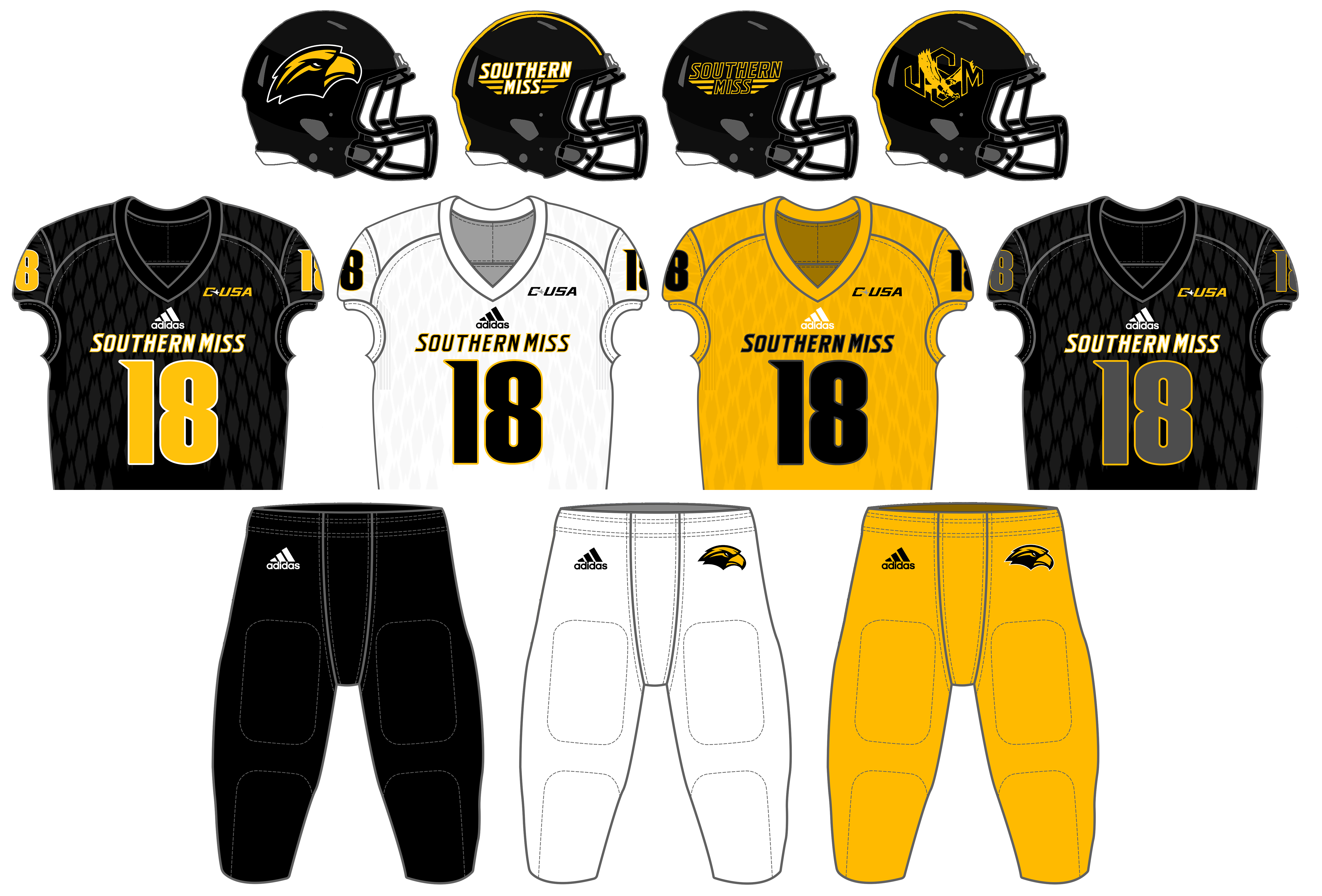 1d4b94189 Southern Miss Golden Eagles football - Wikipedia