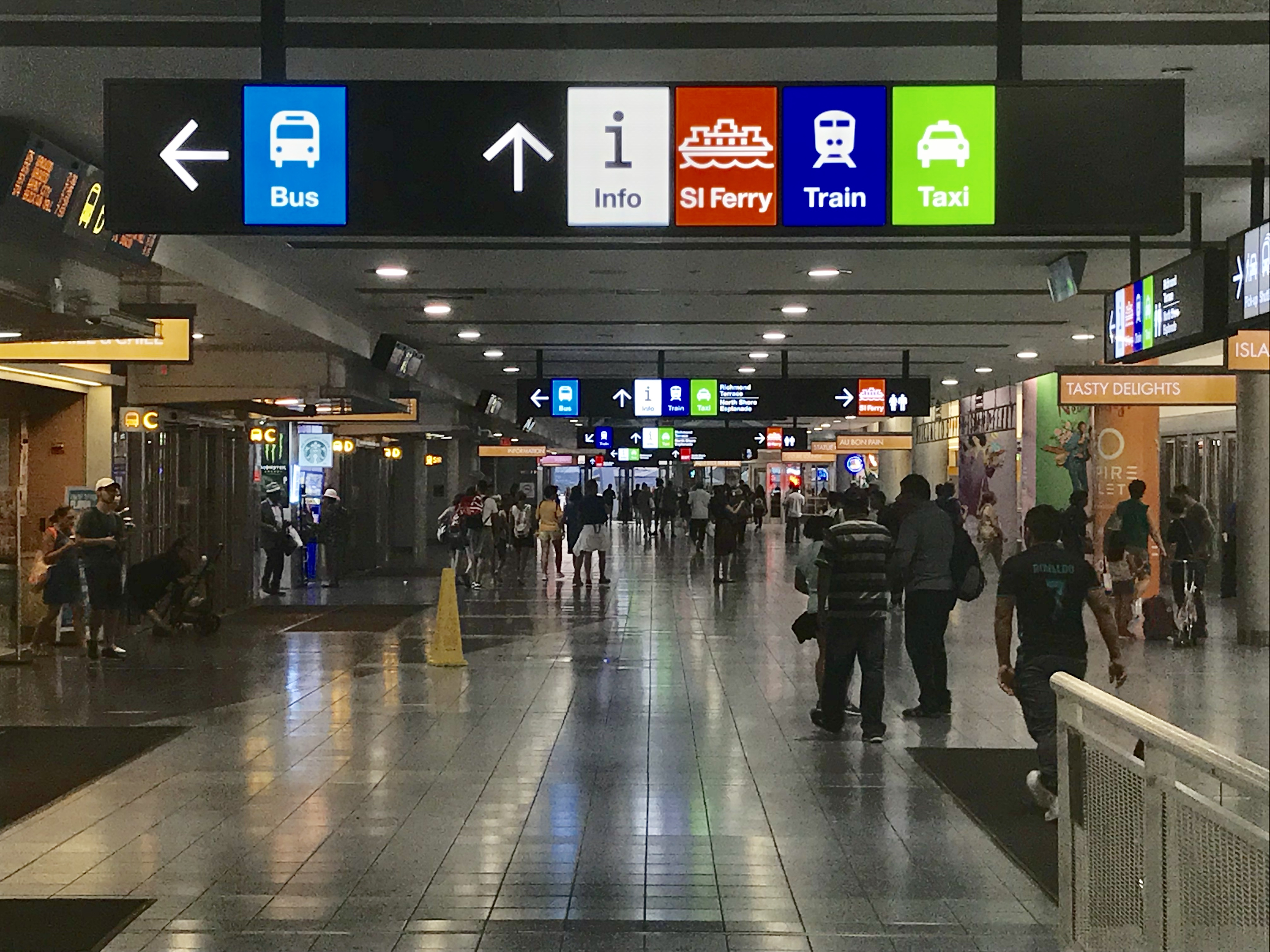 St  George Terminal - Wikipedia