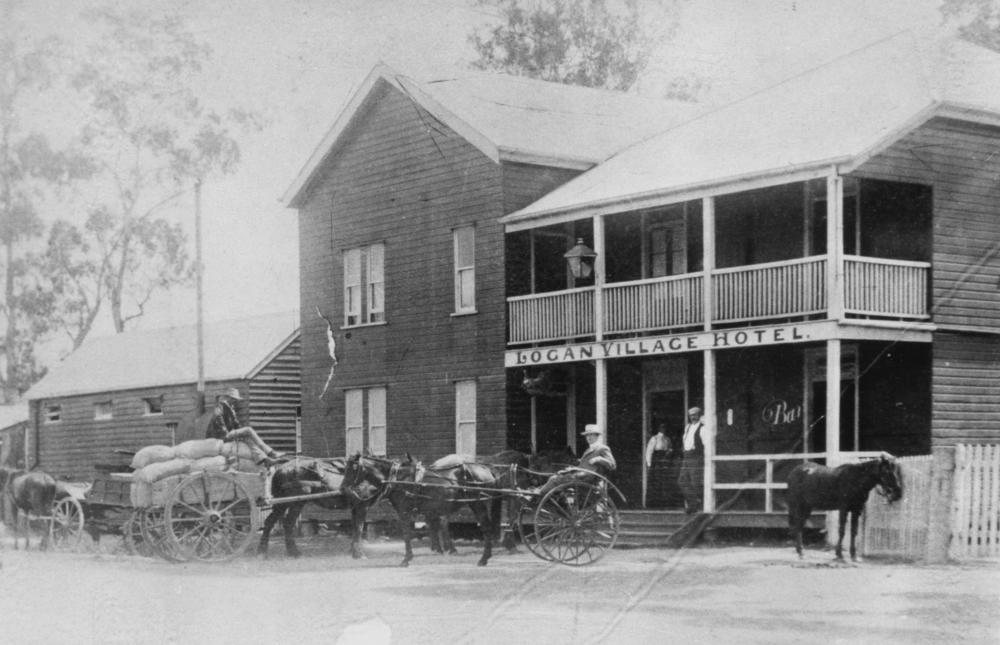 File:StateLibQld 1 115544 Logan Village Hotel, ca. 1912.jpglogan village