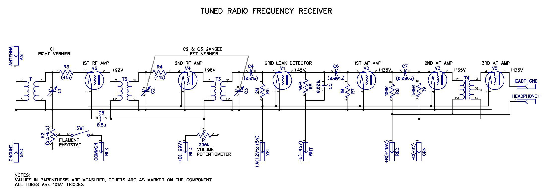 atwater kent model 20 schematic  | theradioboard.com
