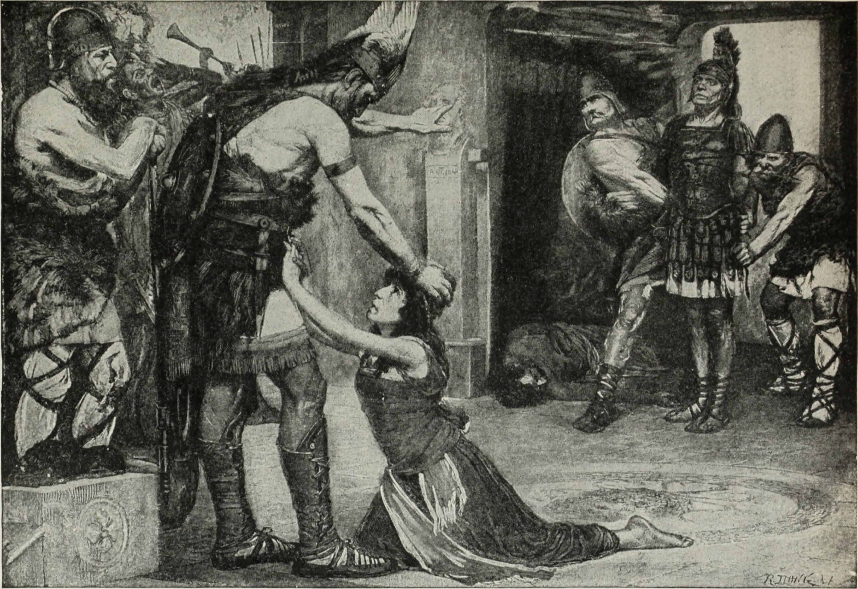 FileThe Bookshelf For Boys And Girls Historic Tales Golden Deeds Part 4