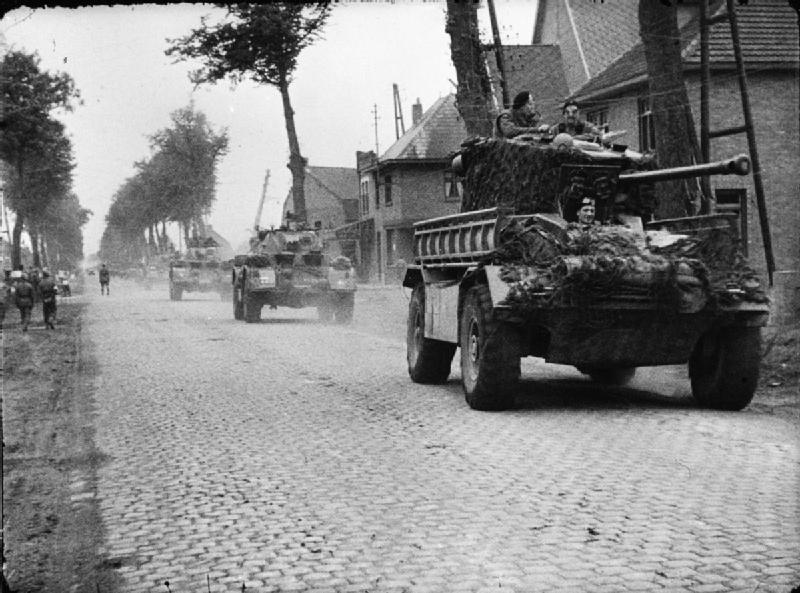 AEC Mk III and Staghound armored cars