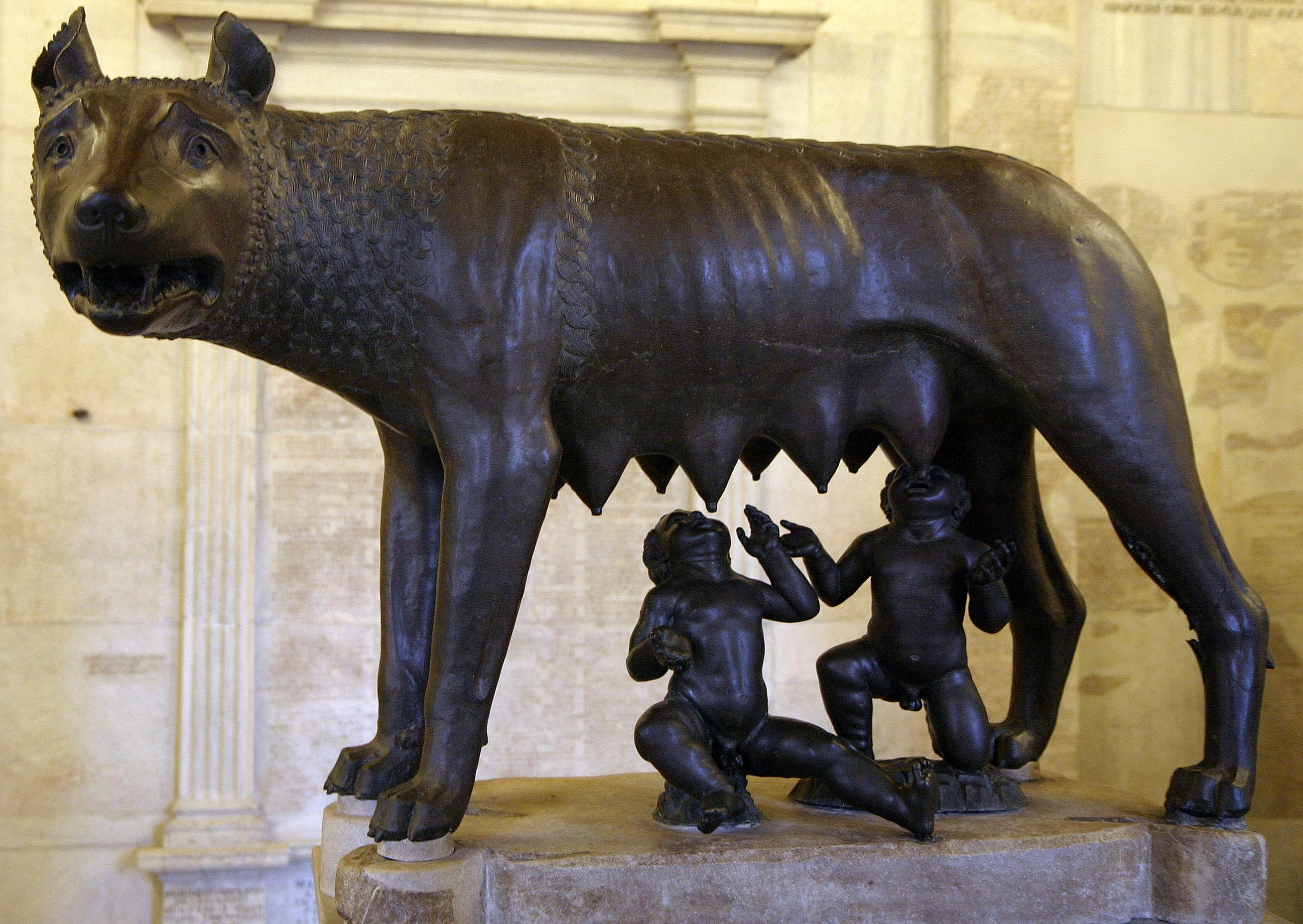 she wolf rome art - photo#15