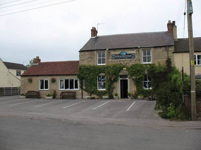 The Fox and Hounds, Carthorpe - geograph.org.uk - 458497
