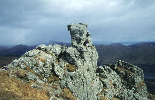 The summit of The Cobbler. - geograph.org.uk - 11249