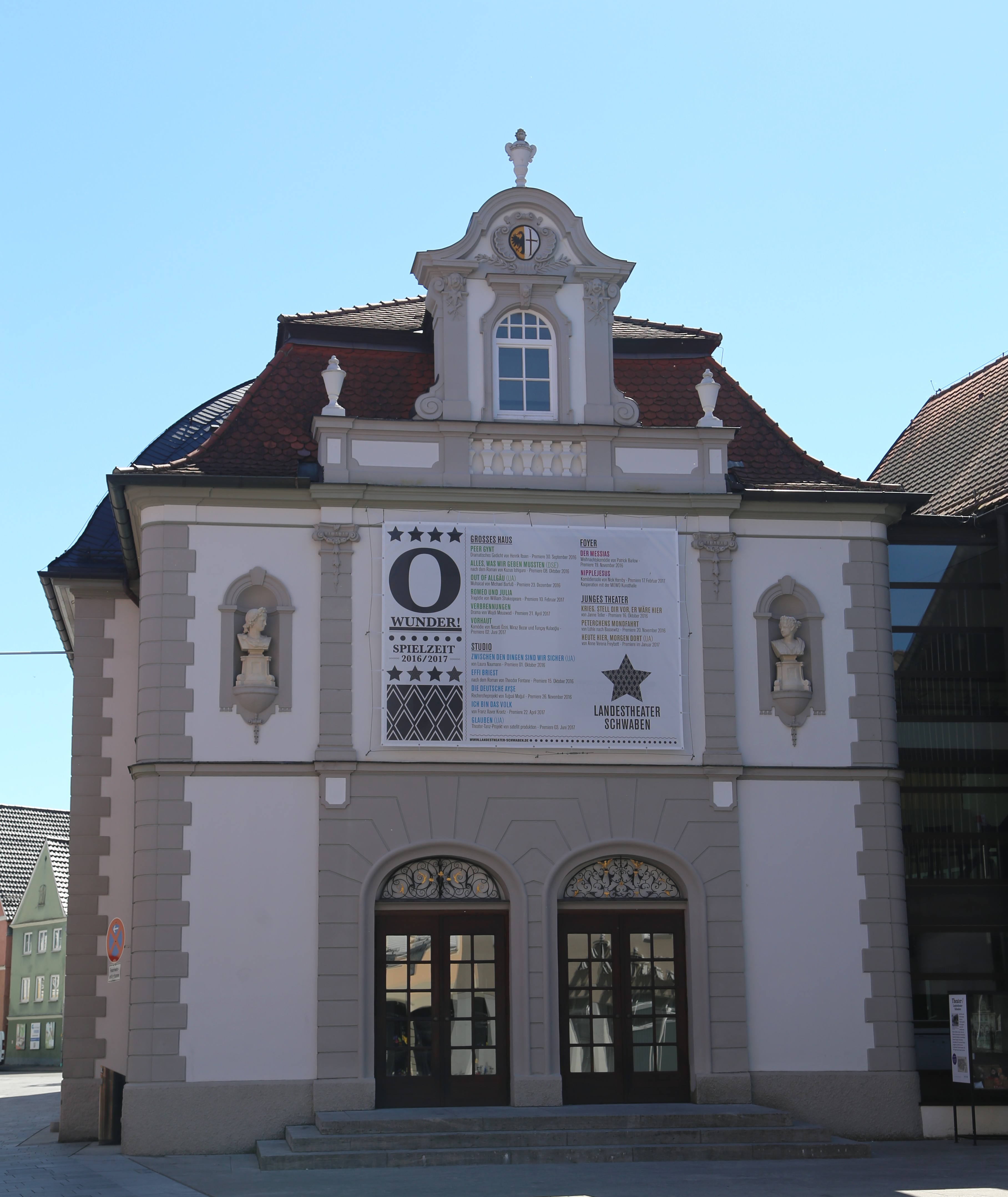 Filetheaterplatz 2 4 6 Stadttheater Memmingen 1jpg
