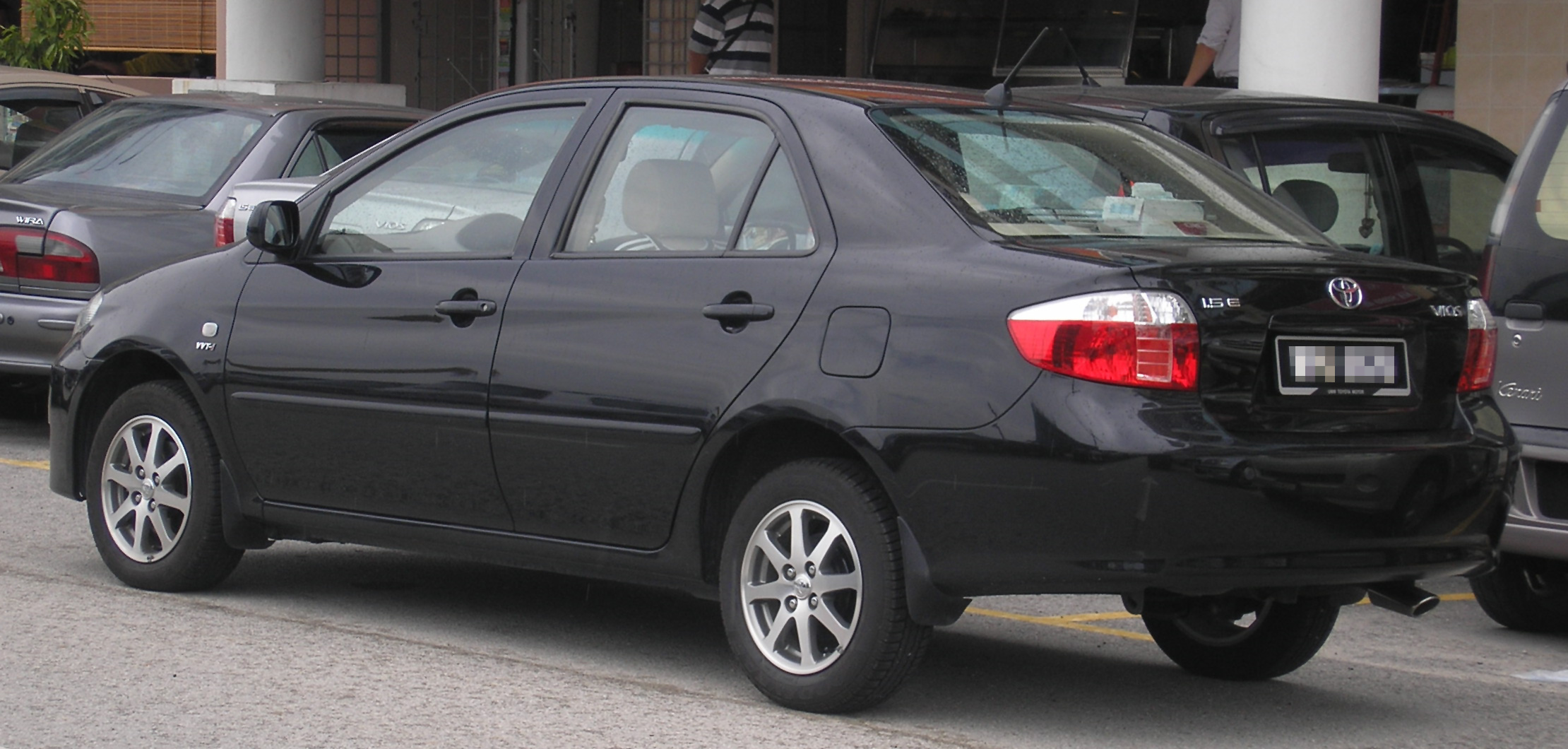 File Toyota Vios First Generation First Facelift Rear
